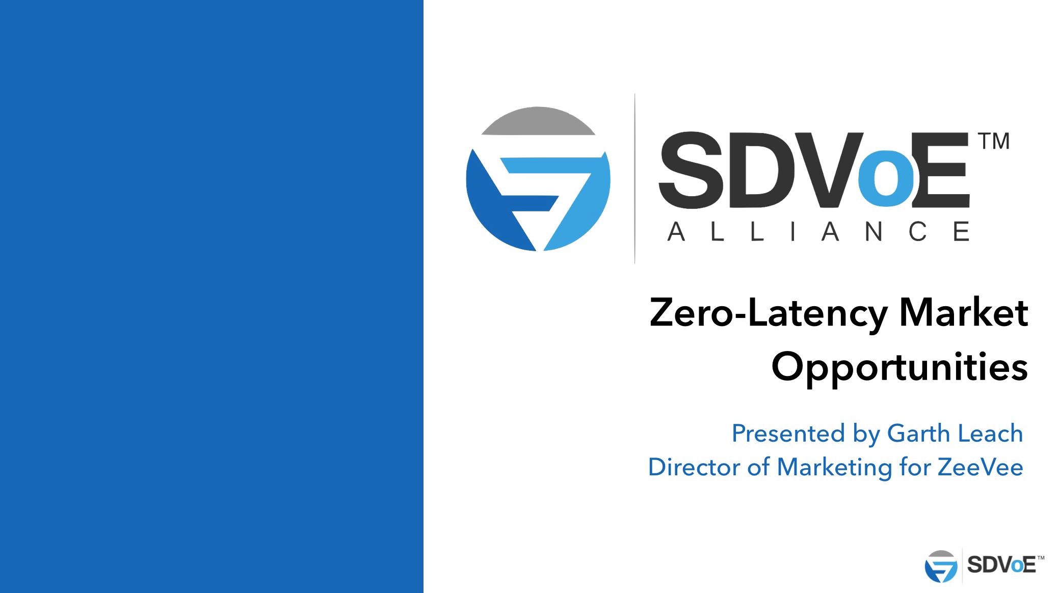 Zero-Latency Market Opportunities