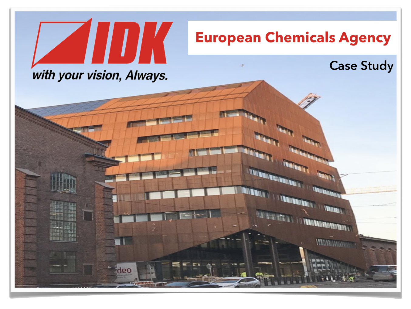Case Study - AV Simplified at European Chemicals Agency