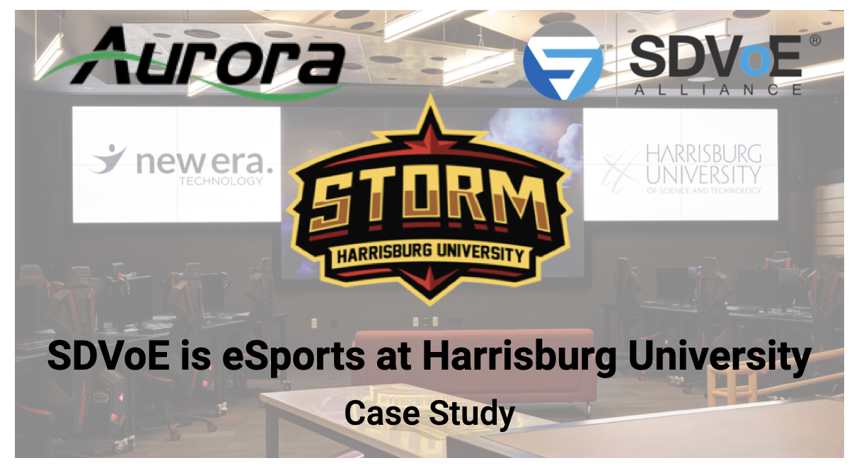SDVoE in eSports: Harrisburg University