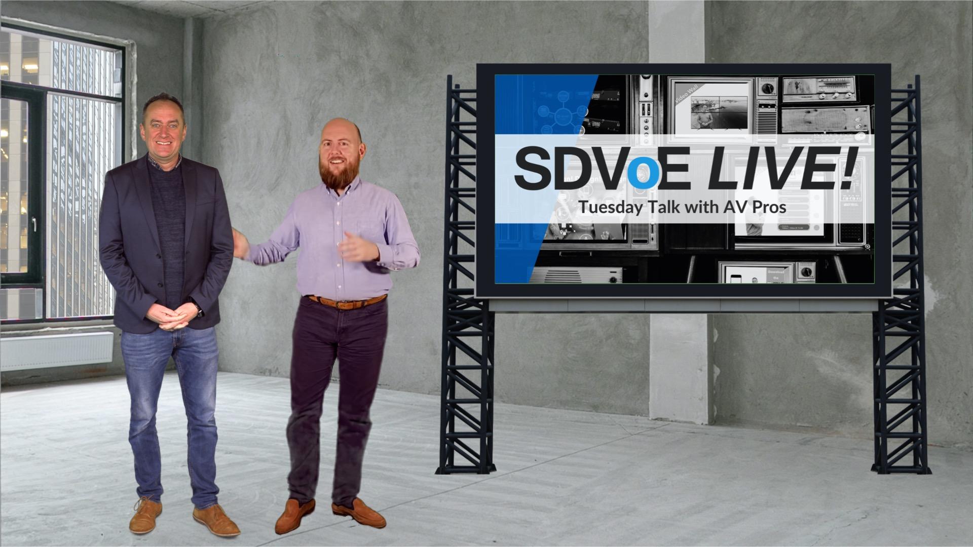 SDVoE LIVE! Episode 6: Why Samsung Chose SDVoE over a Matrix