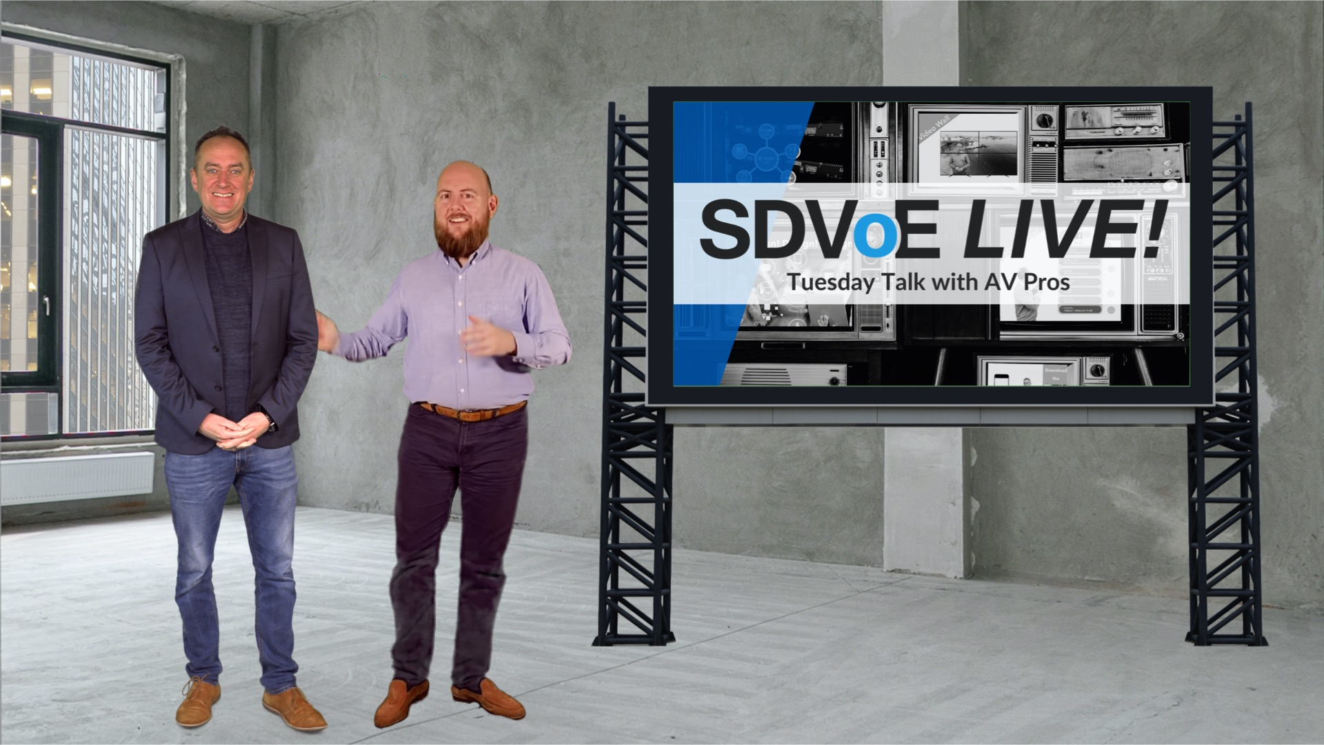 SDVoE LIVE! Episode 9: It's 1:00. Do You Know Where Your Network Is?